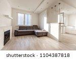 modern  stylish living room... | Shutterstock . vector #1104387818