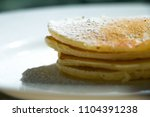 close up traditional pancakes... | Shutterstock . vector #1104391238