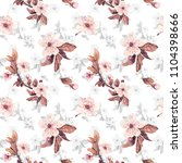 romantic seamless pattern with...   Shutterstock . vector #1104398666