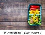 healthy food concept  | Shutterstock . vector #1104400958