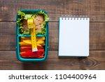 healthy food concept  | Shutterstock . vector #1104400964