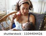 infancy  motherhood  nutrition  ... | Shutterstock . vector #1104404426