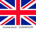 united kingdom national flag   Shutterstock .eps vector #1104405239