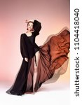 pretty beautiful sexy elegance... | Shutterstock . vector #1104418040