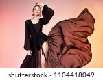 pretty beautiful sexy elegance... | Shutterstock . vector #1104418049