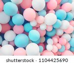 many colorful balloons... | Shutterstock . vector #1104425690