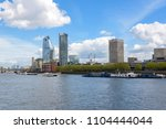 panorama of south bank of the... | Shutterstock . vector #1104444044