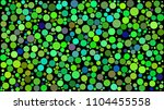 abstract background of circles... | Shutterstock .eps vector #1104455558