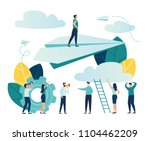 vector illustration  concept of ... | Shutterstock .eps vector #1104462209