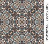 vector abstract ethnic nature... | Shutterstock .eps vector #1104474893