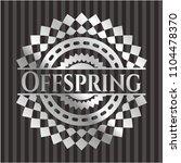 offspring silver badge   Shutterstock .eps vector #1104478370