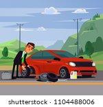 office worker businessman man... | Shutterstock .eps vector #1104488006