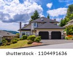 luxury house in vancouver ... | Shutterstock . vector #1104491636