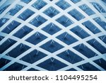 collage photo of grid structure ... | Shutterstock . vector #1104495254