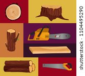 vector poster with tools for... | Shutterstock .eps vector #1104495290