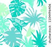 nature seamless pattern. hand... | Shutterstock .eps vector #1104496406