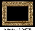 antique frame | Shutterstock . vector #110449748