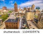 milwaukee  wisconsin  usa... | Shutterstock . vector #1104505976