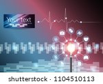 the science concept background... | Shutterstock .eps vector #1104510113