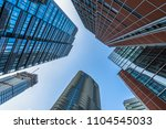 architectural complex against... | Shutterstock . vector #1104545033
