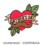 happy father s day vector.... | Shutterstock .eps vector #1104546416