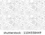 vector big data pattern. big... | Shutterstock .eps vector #1104558449