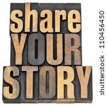 Share Your Story Phrase  ...