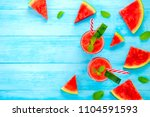 colorful refreshing cold... | Shutterstock . vector #1104591593