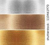 aluminum  brass and golden...   Shutterstock . vector #110461970