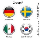 group f. shiny metallic icons... | Shutterstock .eps vector #1104621236
