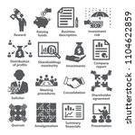 business management icons pack... | Shutterstock .eps vector #1104622859