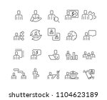 people and business icons set...   Shutterstock .eps vector #1104623189