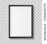 realistic picture frame... | Shutterstock .eps vector #1104633170