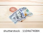new age of cryptocurrency money ... | Shutterstock . vector #1104674084