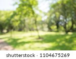 abstract blur city park bokeh... | Shutterstock . vector #1104675269
