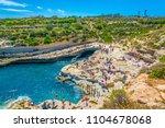 marsaxlokk  malta  april 30 ... | Shutterstock . vector #1104678068