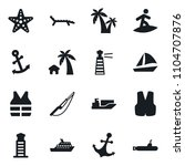 set of simple vector isolated... | Shutterstock .eps vector #1104707876