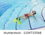 enjoying summer vacation | Shutterstock . vector #1104715568