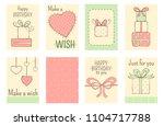 set of banner  background ... | Shutterstock .eps vector #1104717788