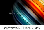 abstract wave lines fluid... | Shutterstock .eps vector #1104722399
