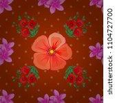 watercolor seamless pattern... | Shutterstock .eps vector #1104727700
