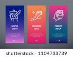 graphic design  designers tools ... | Shutterstock .eps vector #1104733739