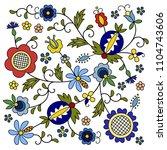traditional  modern polish  ... | Shutterstock .eps vector #1104743606