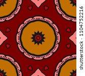 bright color seamless art... | Shutterstock .eps vector #1104752216