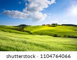 italy countryside landscape... | Shutterstock . vector #1104764066