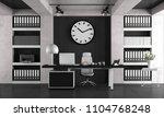 black and white minimalist... | Shutterstock . vector #1104768248
