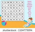 educational game for children.... | Shutterstock .eps vector #1104775094