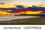 view of saltburn from marske... | Shutterstock . vector #1104790826