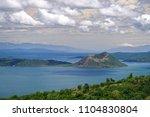 beautiful landscape at tagaytay ...   Shutterstock . vector #1104830804