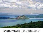 beautiful landscape at tagaytay ...   Shutterstock . vector #1104830810